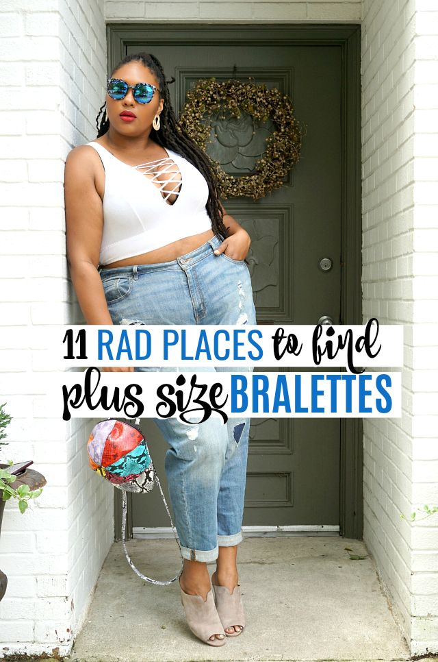 421728e43b7e1a 11 RAD PLACES TO FIND PLUS SIZE BRALETTES