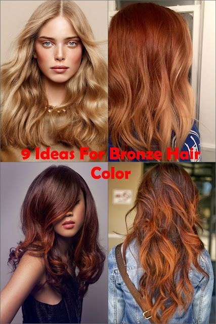 Bronze Hair Is Very Por Color That Both Looks Vibrant And Natural At The Same Time There A Debate Whether This Brown Copper