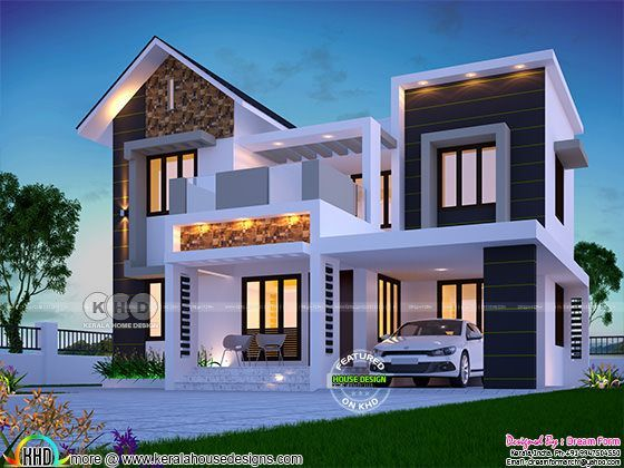 1626 Square Feet Awesome Kerala Modern Home Kerala Home Design Bloglovin