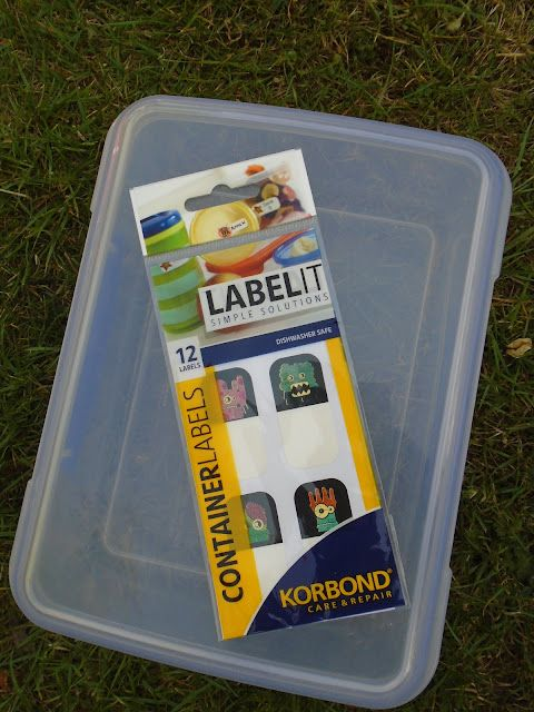Brilliant Korbond Name Label Kit Home & Garden