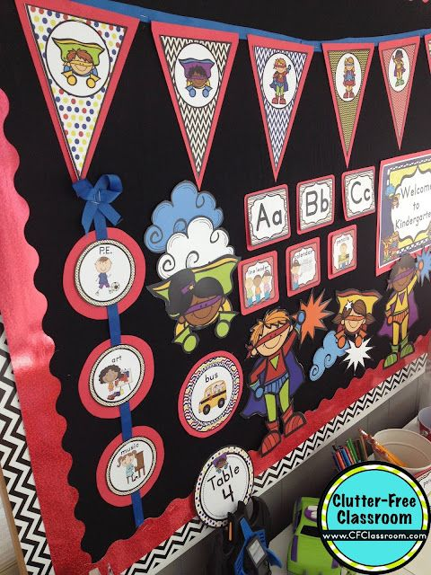Super Heroes Decor For Classroom : Superheroes themed classroom ideas printable