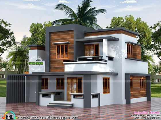 22 5 lakh cost estimated modern house kerala home design bloglovin - Online home design free of cost ...