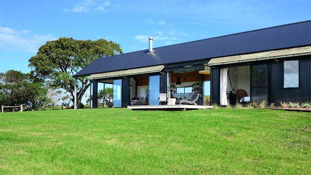 Australie un look industriel pour une maison de vacances for Atelier maison verte