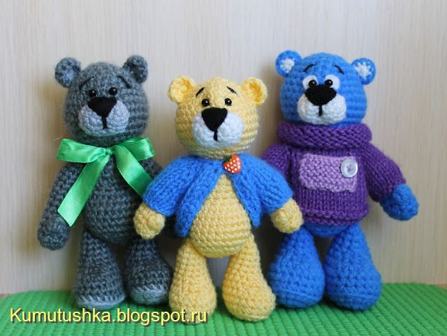 Amigurumi Free Patterns Blog : Amigurumi Little Bears-Free Pattern Amigurumi Free ...