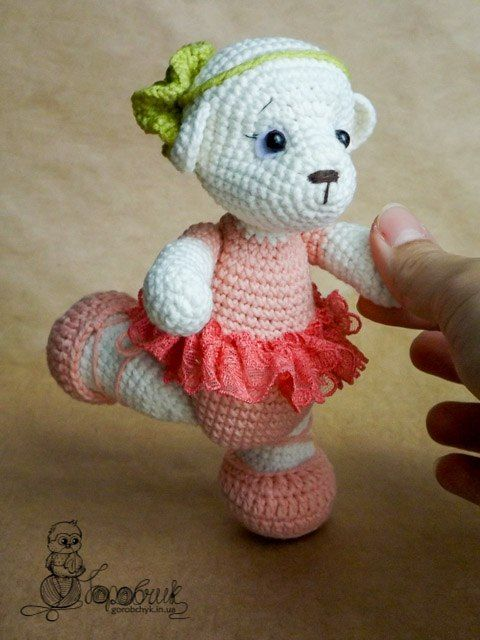 Amigurumi Patterns Blog : Amigurumi Ballerina Bear-Free Pattern Amigurumi Free ...