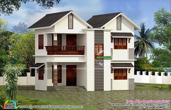 Vastu facing west home plan kerala home design bloglovin for Kerala vastu home plans