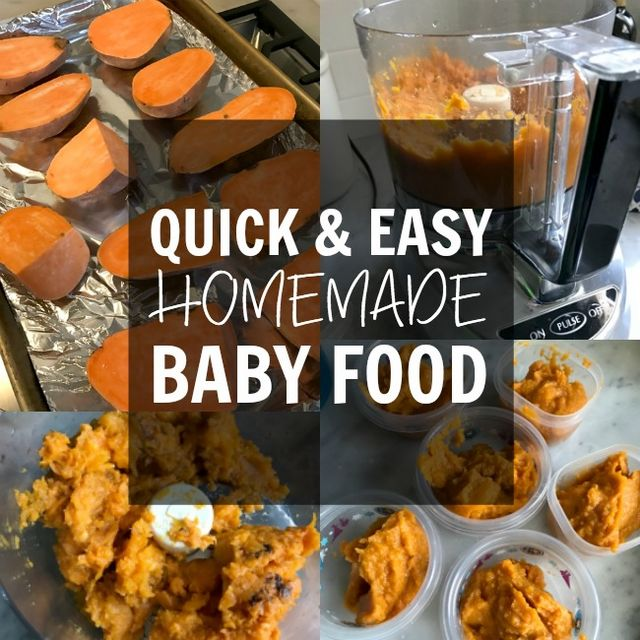 Starting solids quick easy homemade baby food recipes honey we we waited to start solid foods until jordan was 6 months old our pediatrician advised to go ahead and start feeding her breakfast lunch and dinner even forumfinder Choice Image