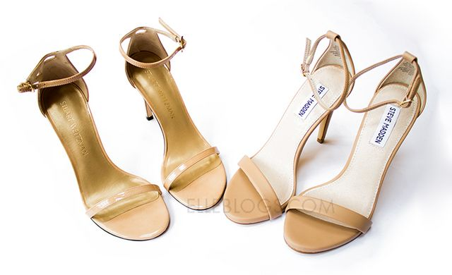 Review: Stuart Weitzman Nudistsong Ankle Strap Sandal + Steve Madden Stecy  Sandal