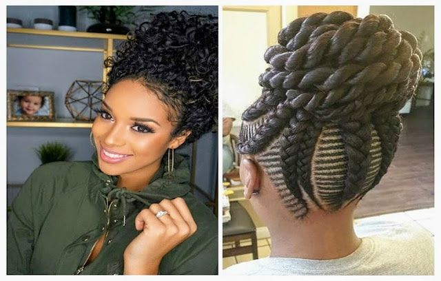 8 Easy Updo Hairstyles For Black Women