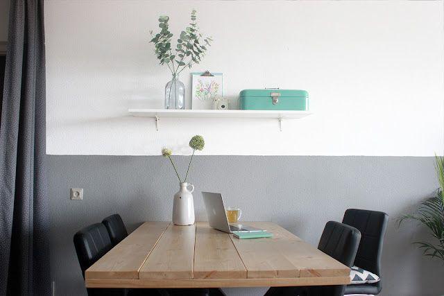 Interieur: een nieuwe kleur op de muur! the budget life bloglovin