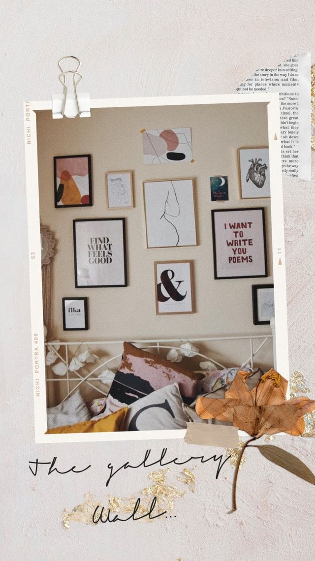 Le Boudoir : The Gallery Wall  | IN MY SUNDAY BEST | Bloglovin'