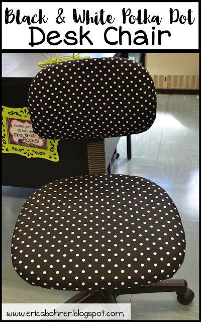 Black and white polka dot classroom decor ideas erica 39 s for Black and white polka dot decorations