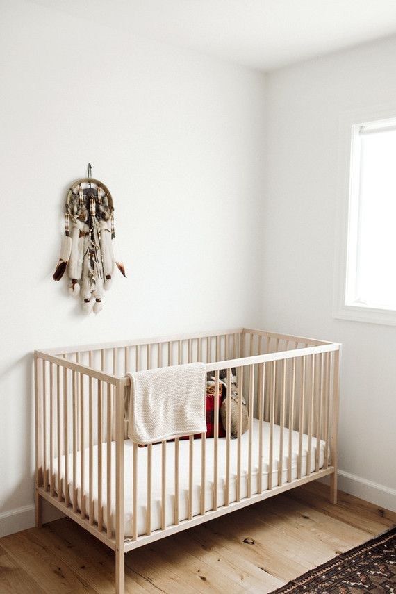 87eb1f8d60 We sure love it when we see lots of different decor sources in a nursery  post