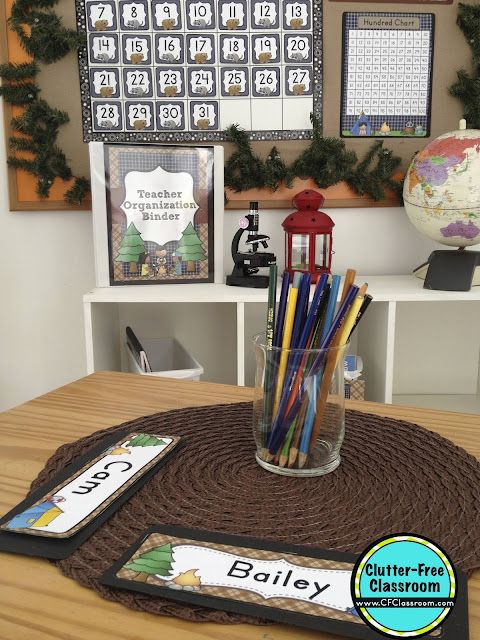 Classroom Decoration Free Download ~ Camping themed classroom ideas printable