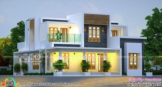 204 Sq M Contemporary Home Kerala