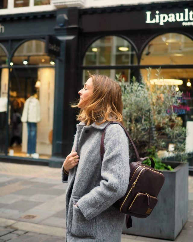 Running Around Town With Lipault | South Molton St Style