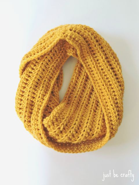 Easy And Quick Winter Crochetcowl Snelle Colshawl Haakpatroon