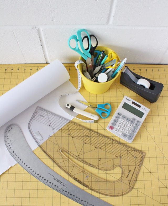 Five Tools For Drafting Tracing And Adjusting Sewing Patterns