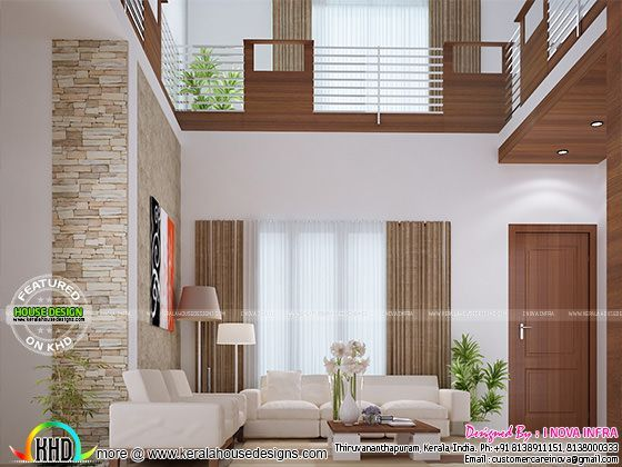 Balcony Dining Bedroom And Staircase