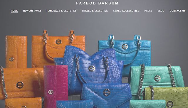 Fashion Exotic Wallets From Farbod Barsum Luch Luch Craft