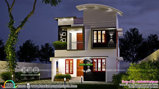 small budget 3bhk double floor house 1000 sft 3 bhk small double storied house 1200 sq ft kerala home