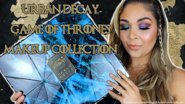 b0488b833d4 OMG - Beauties I am SO beyond Excited to share this Urban Decay Game Of  Thrones Makeup Collection with you!! In this video I will share an overview  of this ...