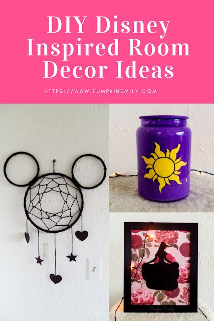 Diy Disney Room Decor Ideas Pumpkin Emily Bloglovin