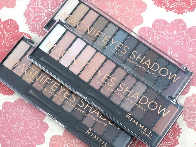 New from Rimmel London comes a trio of affordable nude palettes called the Magnif'eyes Eyeshadow Contouring Palette ($15.99 CAD).
