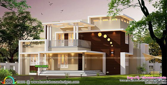 Contemporary style home architecture 3000 sq-ft   Kerala ... on house plans over 5000 square feet, house plans over 4000 square feet, house plans over 15000 square feet,