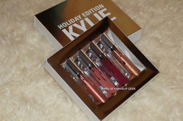 The Holiday Lip Trio by Kylie Cosmetics #6