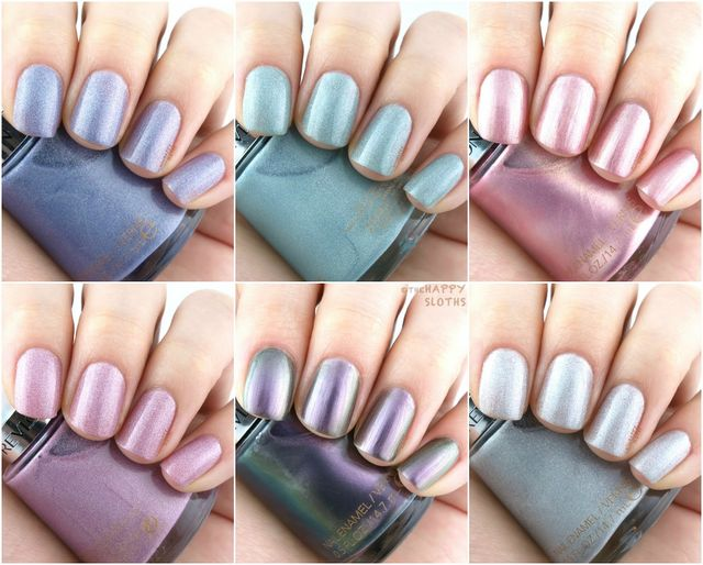 Revlon Holochrome Nail Polish Collection Review And