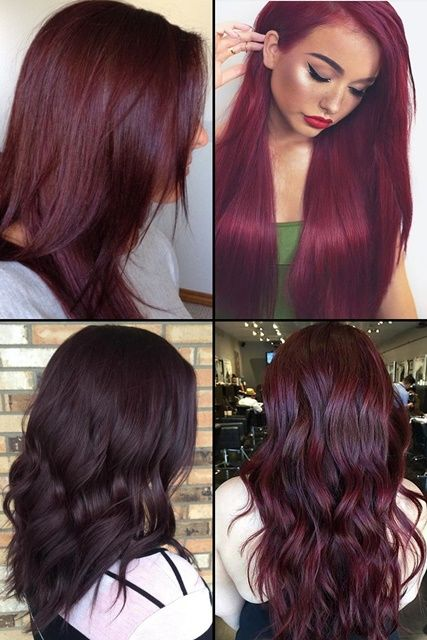 9 Hottest Burgundy Hair Color Ideas For 2017 Hairstyles