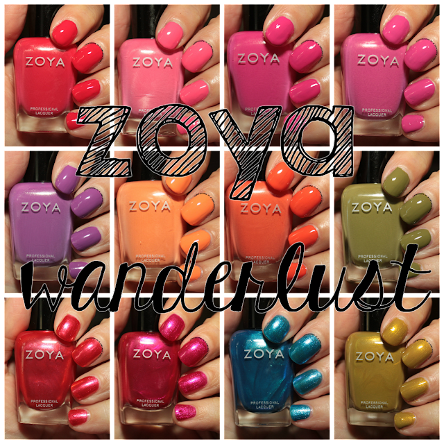 I'm easing back into this blogging thing. I realize that I may or may not be able to post every day. But I'm going to start off with the newest Zoya ...