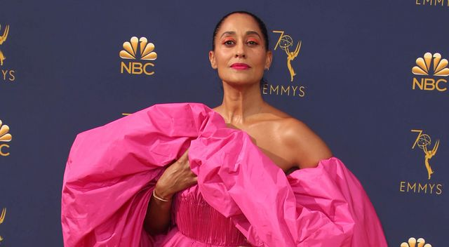 5565b857c4 Emmys 2018  Tracee Ellis Ross Goes There in Valentino Couture