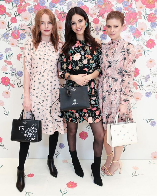 """335a6f76803d3 Kate Bosworth, Victoria Justice, and Kate Mara at Kate Spade New York's  """"Bloom Bloom"""" Event"""