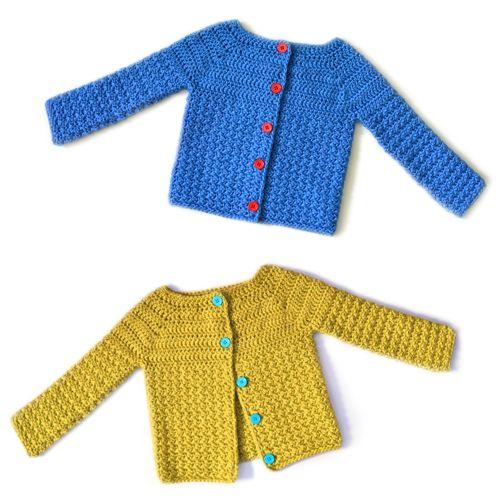 30 Off Cozy Children Cardigan Sweater Crochet Pattern Crochet