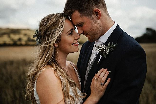 f63e26a59409a Amy and Dan were married on 25th August 2018 at Woodlands Church, Bristol,  with the reception in tipis overlooking Chew Valley Lake.