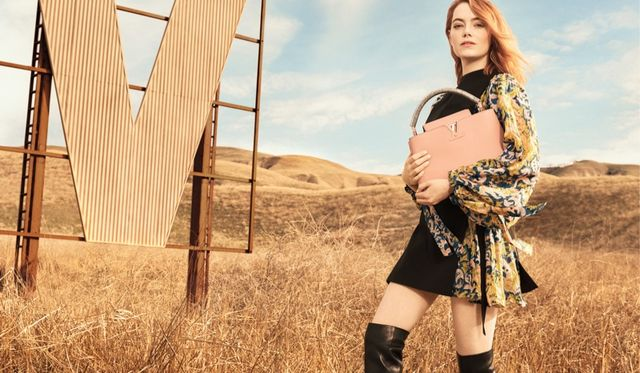 dff6343ebc78 Emma Stone Lands Her First Louis Vuitton Campaign – See the Photos ...