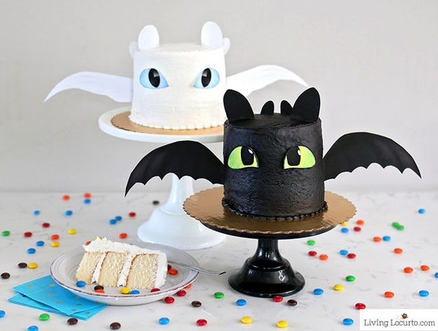 How To Train Your Dragon Cake Recipe | I Heart Faces