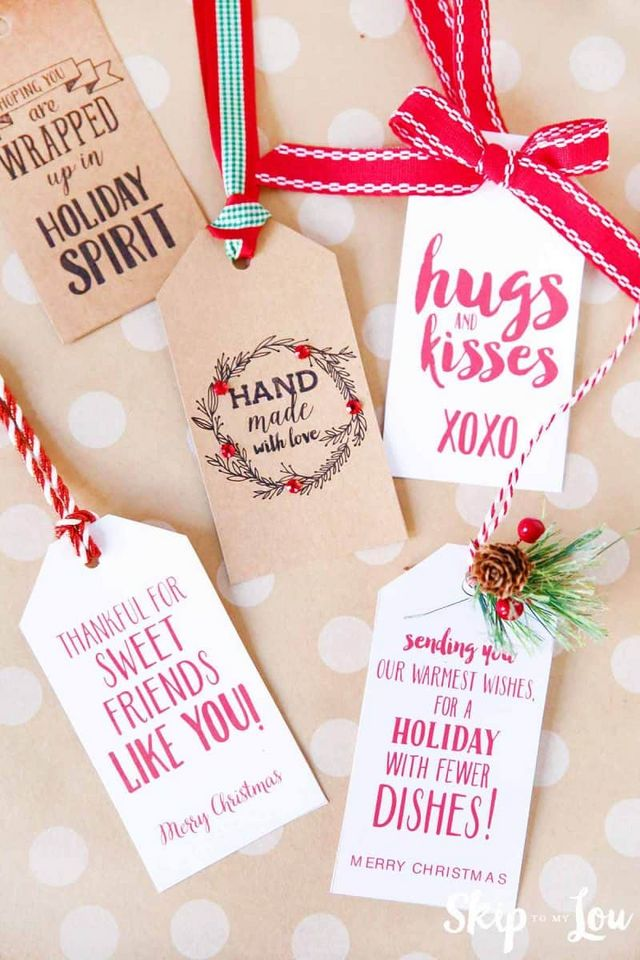 25 Easy Christmas Gift Ideas that are super cute!   Skip ...