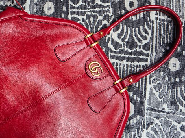 e2854c2b6db687 When I spotted a Gucci tote that was both beautiful and functional (and  maybe could replace my canvas), I was intrigued. Meet the The Gucci  RE(BELLE) Tote, ...