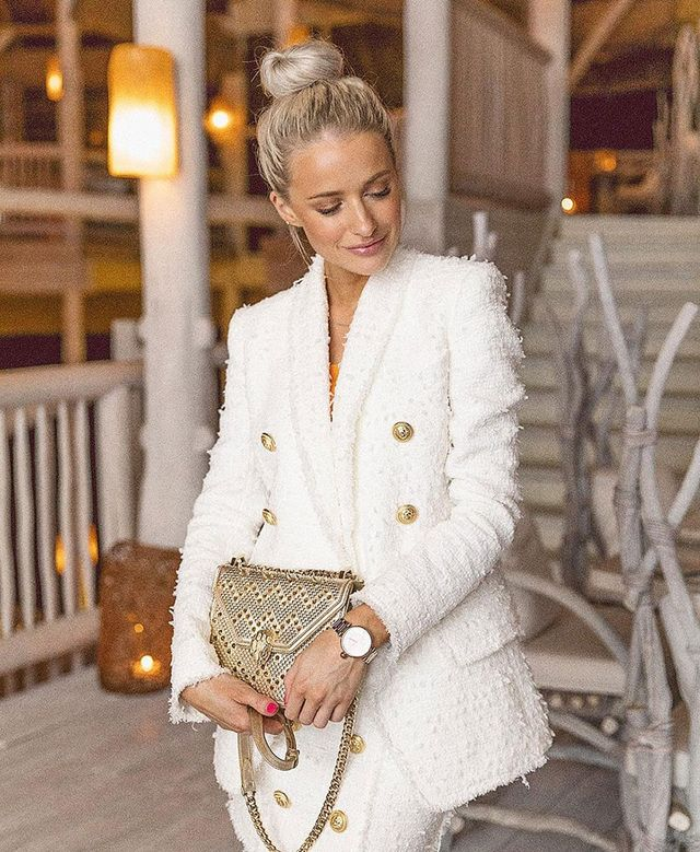 cc4ae0045e62 Victoria Magrath ( inthefrow) carrying her Bulgari Serpenti Bag on her  Instagram