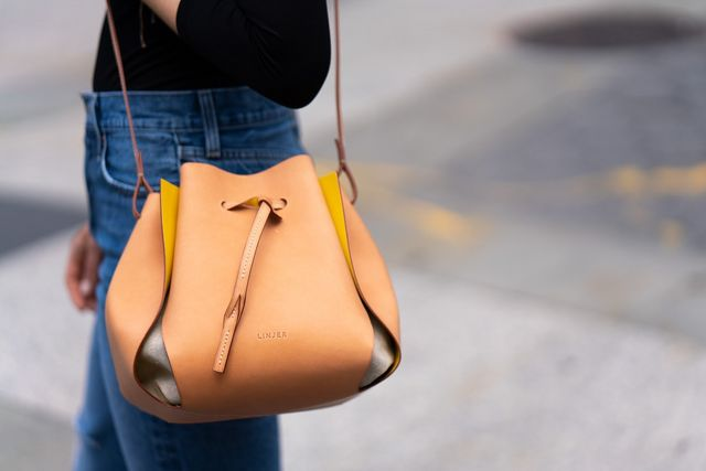 8306b0c47a4 As for the next bag from Linjer: You may have seen the Linjer Tulip Bag  before (it has some famous fans), and if you have, you might be as  intrigued as I ...