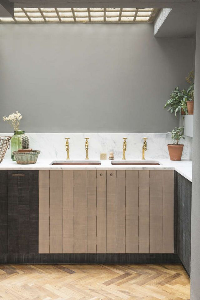 Kitchen Of The Week The Refined Rustic Kitchen Sebastian
