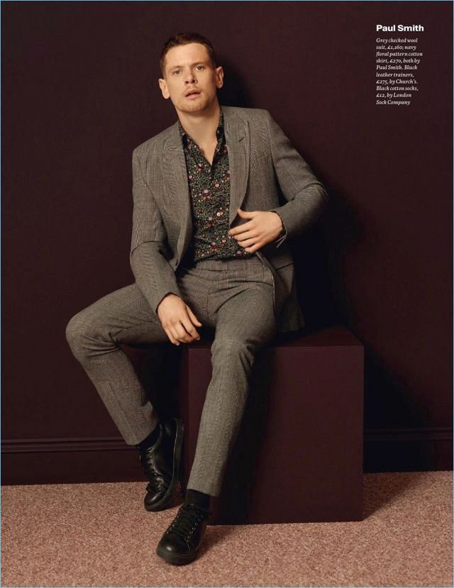 f259df605 Jack O'Connell Dons Smart Styles for Esquire UK | The Fashionisto ...