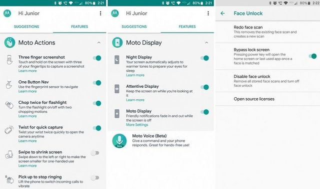 Moto G6/Moto Z3 Play apps ported to the Moto Z2 Play [Root