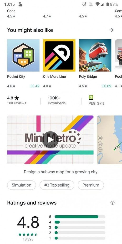 Google Play Store v14 5 52 tests a Material Theme redesign and lays