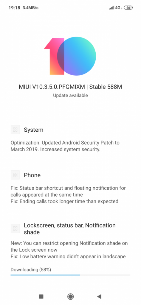 MIUI 10 3 5 0 rolls out for the Xiaomi Redmi Note 7 with new camera