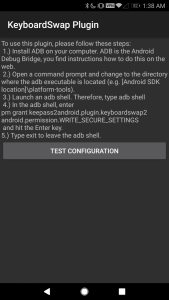 KeyboardSwap Plugin for Keepass2Android Automatically Switches