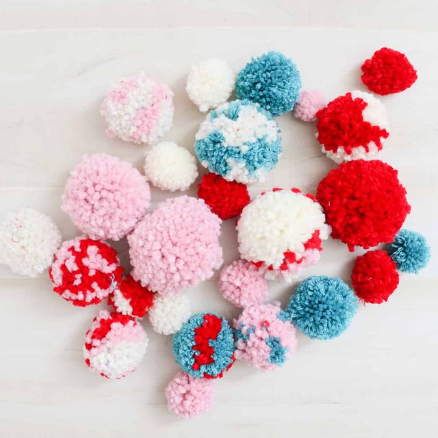 6f2e1855d3b9e DIY Pom Pom Christmas Stocking | A Beautiful Mess | Bloglovin'